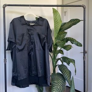 Universal Standard Satin Shirt